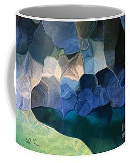 Cave Of Soul Coffee Mug by Leo Symon