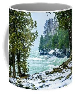Cave Point #5 Coffee Mug