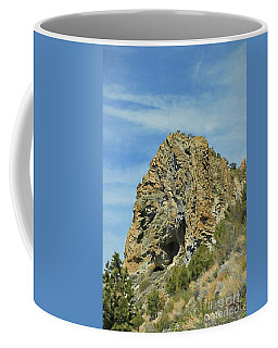 Coffee Mug featuring the photograph Cave Rock At Tahoe by Benanne Stiens