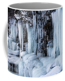 Coffee Mug featuring the photograph Caves Of Ice by Alex Lapidus