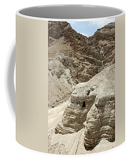 Caves Of The Dead Sea Scrolls Coffee Mug
