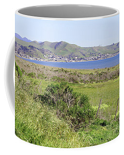 Coffee Mug featuring the photograph Cayucos Coastline - California by Art Block Collections