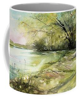 Caz Lake Rest Stop Coffee Mug by Judith Levins