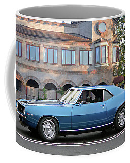 Coffee Mug featuring the photograph Cbad Z28 In Blue by Bill Dutting