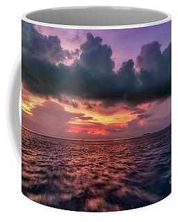 Coffee Mug featuring the photograph Cebu Straits Sunset by Adrian Evans