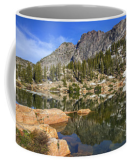 Cecret Lake And Devil's Castle Coffee Mug