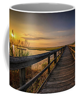 Cedar Beach Pier, Long Island New York Coffee Mug