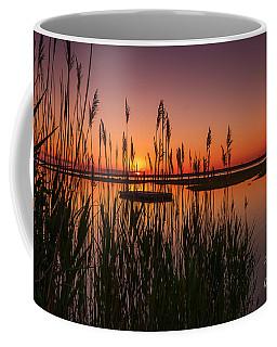 Cedar Beach Sunset In The Reeds Coffee Mug