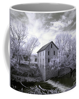 Cedar Point Mill In Infrared Coffee Mug