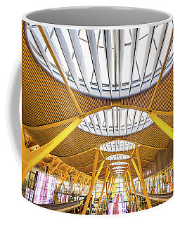 Ceiling Windows Madrid Airport Coffee Mug