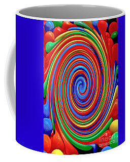 Celebrate Life And Have A Swirl Coffee Mug by Carol F Austin