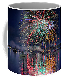 Coffee Mug featuring the photograph Celebration In Boothbay Harbor by Rick Berk