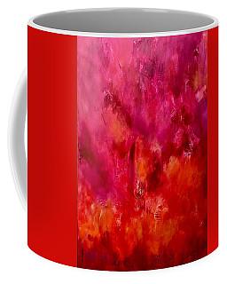 Celebrations Wedding Pink Abstract  Coffee Mug