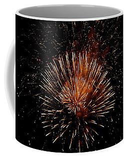 Voice Less Than Fireworks   Coffee Mug by Manjot Singh Sachdeva