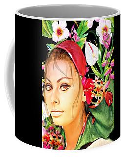 Celebrity Sofia Loren Coffee Mug