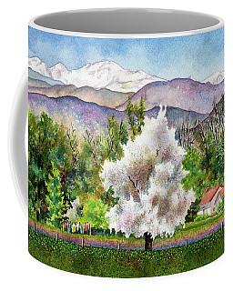 Celeste's Farm Coffee Mug by Anne Gifford
