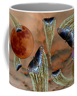 Celestial Butterflies Coffee Mug
