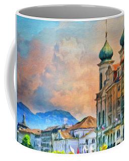 Celestial Contours Coffee Mug