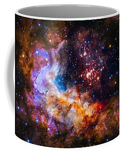 Celestial Fireworks Coffee Mug by Marco Oliveira
