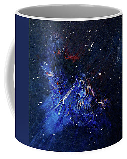 Coffee Mug featuring the painting Celestial Harmony by Michael Lucarelli