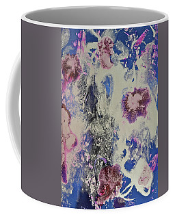 Coffee Mug featuring the painting Celestial by Michele Myers