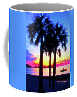 Coffee Mug featuring the photograph Celestial Skies Beach Sunset by Aimee L Maher Photography and Art Visit ALMGallerydotcom