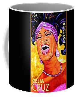 Celia Cruz Coffee Mug by Lanjee Chee