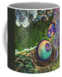 Cell Interior Microbiology Landscapes Series Coffee Mug