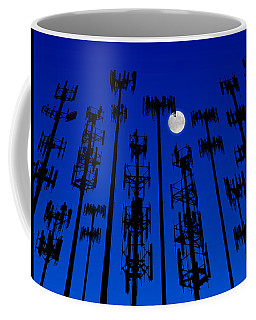Cellphone Tower Forrest Coffee Mug