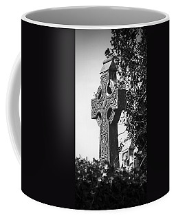 Celtic Cross At Fuerty Cemetery Roscommon Ireland Coffee Mug