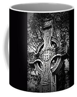 Celtic Cross Detail Killarney Ireland Coffee Mug