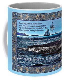 Celtic Explorer - Bluenose II In Halifax Harbour Coffee Mug