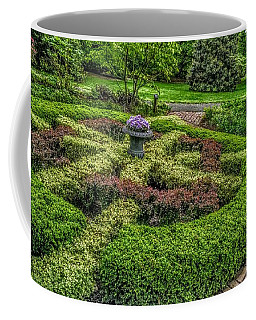 Celtic Topiary At Frelinghuysen Arboretum Coffee Mug