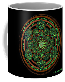 Celtic Tree Of Life Mandala Coffee Mug