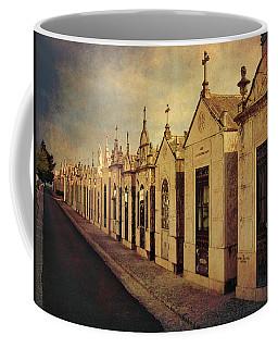 Coffee Mug featuring the photograph Cemetary In Santarem Portugal by Menega Sabidussi
