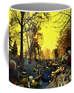 Cemetery In Feast Of The Dead Coffee Mug