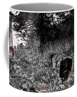 Cemetery In Red Coffee Mug
