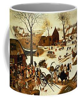 Census At Bethlehem Coffee Mug