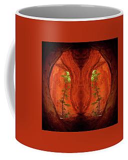 Center Column Coffee Mug by Scott McAllister