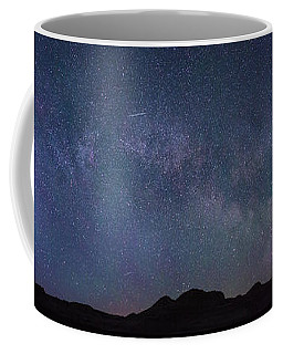 Center Of The Milky Way Over The Badlands Coffee Mug