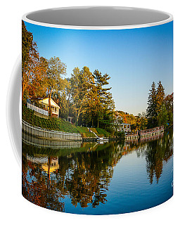 Centerport Harbor Autumn Colors Coffee Mug