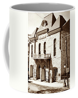 Coffee Mug featuring the photograph Central City Colorado Opera House 1950 by Marilyn Hunt