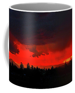 Central Oregon Sunset Coffee Mug