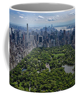 Central Park Aerial Coffee Mug