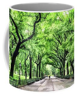 New York City Central Park Mall Coffee Mug
