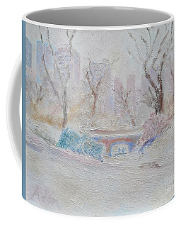 Central Park Record Early March Cold Circa 2007 Coffee Mug