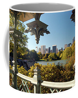 Central Park View Coffee Mug by James Kirkikis