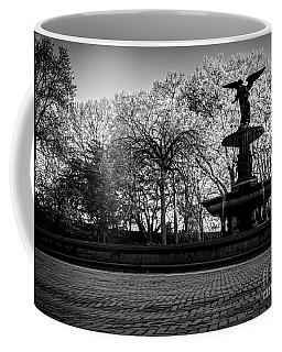 Central Park's Bethesda Fountain - Bw Coffee Mug