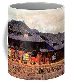 Central Railroad Of New Jersey Freight Station In Scranton Pa Coffee Mug