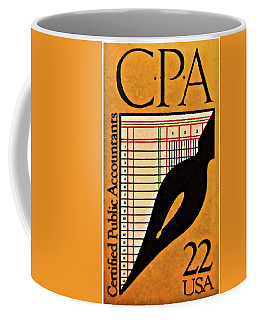 Certified Public Accounting Issue Coffee Mug by Lanjee Chee